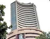 Sensex down 50 pts after touching 30-month high