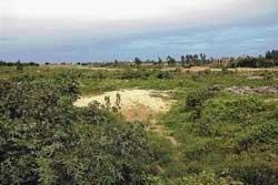 MLA, tahsildar and freedom fighters in land dispute