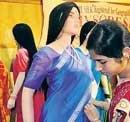 Now 'ahimsa' silk sarees for women