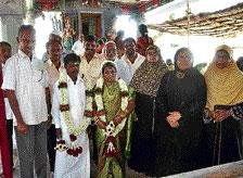 Couples give new dimension to communal amity