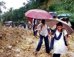 Rains lash several parts of State