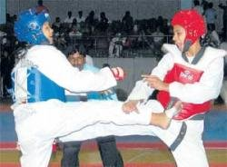 Tejaswini clinches gold in style
