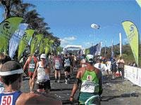 A marathon of endurance