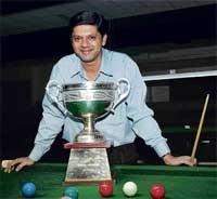 Manudev holds nerve to retain snooker title