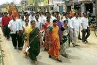 Land grab: BJP charges against Bagepalli Town Municipality