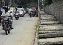 Contractors abandon road widening work in City