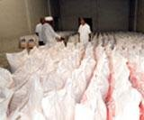 Food grains rot in the open as prices rise