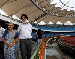 The main venue for the Commonwealth Games inaugurated