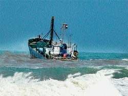 'Stranded Iranian vessel safe'