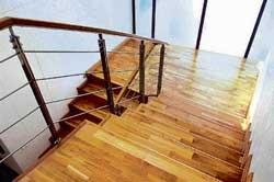 Dressing up staircases