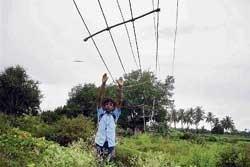 Power problems plague  Srinivaspur town