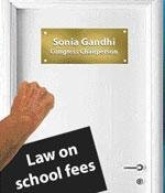 Parents knock at Sonia's door on school fees