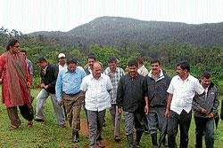 Solve elephant menace, farmers urge MLA