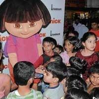 Dora comes calling