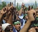Curfew in parts of Kashmir as separatists call march