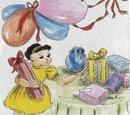 This little Birthday Girl loved balloons!