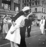 Times Square to re-enact V-J Day kiss