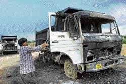 UP tense as police,  farmers clash