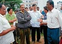 Dispute halts construction of Govt PU college building