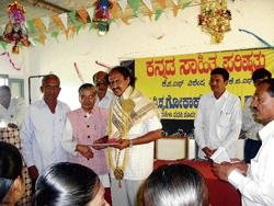 'Gokak's works reflect his experience from travels'