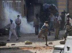 Two killed in Kashmir Valley, curfew in eight towns