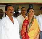 Former C'maglur MP's wife to contest bypolls
