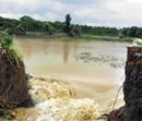 Two washed away; 100 houses collapse