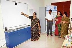 Tech-savvy Govt school has computerised classroom