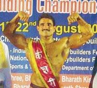 Raymond D'Souza wins Bharath Kesari