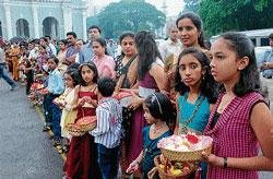 Christians celebrate Mary's birthday with fervour