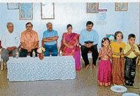 Specially abled celebrate Teacher's Day