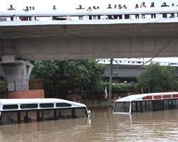 Swollen Yamuna hits over 2,000 people in Delhi, iron bridge closed
