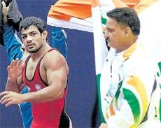 Sushil Kumar targets CWG now