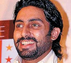 Abhishek celebrates dad's National Award win by doing monkey dance