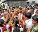 Maadara swami visits Brahmin colony