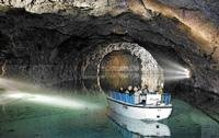 Down under, exploring the Seegrotte caves