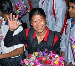 Mary Kom defends World Ch'ship title