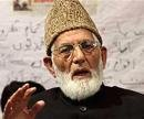 Meeting all-party delegation futile: Geelani