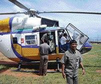 Aviators queue up to lend copters for poll campaigners