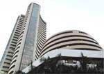 Sensex ends kissing distance of 20,000
