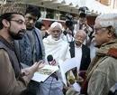 All-party team visits Kashmir hospitals, Hazratbal