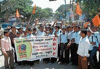 ABVP condemns commercialisation of edn