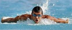Swimmers looking forward to the challenge