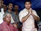 Lalu's cricketer-son to bat for dad's party