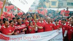 Mangalore runs for heart