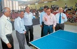 NIE: Badminton,TT and Chess tournaments begin