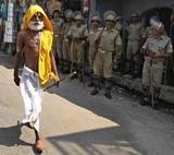 As verdict date nears, devotees visiting makeshift temple drop