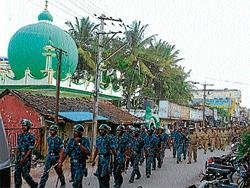 Security tightened in Mandya, Ch'nagar & Hassan