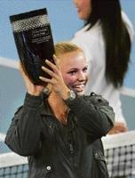 Wozniacki reaches summit