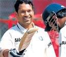Sachin Tendulkar completes sixth Test double century